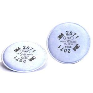 3M/スリーエム 防塵マスク用 交換用フィルター 2071 6000用 2枚/1組 防塵マスク 防じんマスク 粉塵 作業用