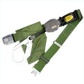 サンコー/タイタン 一般高所用安全帯 リーロックS2ライト ワンタッチバックル OT-SL505 (一本つり/ストラップ巻取/インターロック機構)
