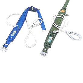 サンコー/タイタン 一般高所用 安全帯 カルラックPRO(補助ベルト)PRO-24AP (一本つり専用 ロープ式)