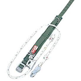 サンコー/タイタン 柱上用 安全帯 U字つり専用タイプ UP-10S (赤芯入りシグナルロープ)