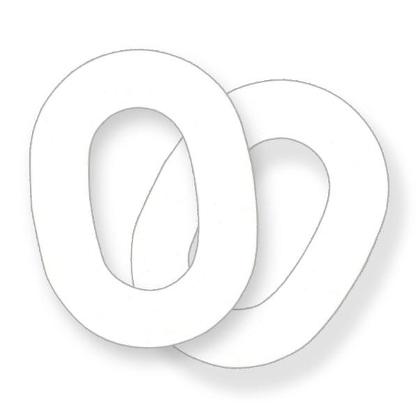 イヤーマフ用 HY100クリーン 使い捨てペーパー (1組) PELTOR (防音・騒音対策)