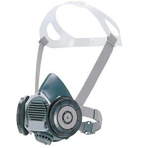 シゲマツ/重松製作所 取替え式防塵マスク DR80SL2W Mサイズ RL2(区分2) 防塵マスク 防じんマスク