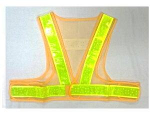 安全ベスト ショート丈夏用サマーベスト 黄色メッシュ黄色(反射)ライン【5着セット】SV50-YL-S 大きな網目+穴あき反射テープ
