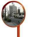 丸型カーブミラー 500φ アクリル製 広角 道路反射鏡 ナック・ケイ・エス
