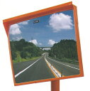 角型カーブミラー 600×800 アクリル製 広角 道路反射鏡 設置基準合格品 ナック・ケイ・エス【大型商品・個人宅配送…