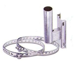 カーブミラー取付金具 電柱用 支柱径 89.1mm用 ナック・ケイ・エス