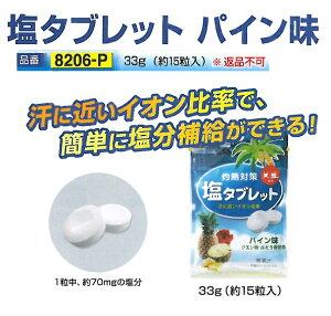 熱中症対策 塩タブレットパイン味 1袋 33g(約15粒入り) 10袋セット CN3002