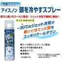 熱中症対策用品 冷感スプレー アイスノン 頭を冷やすスプレー CN8104