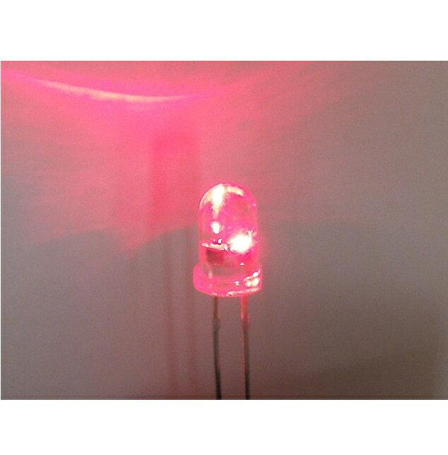 自己点滅LED【送料200円 ゆうパケット対応可】赤色5mmOSHR5X31A−1.5HZ在庫処分品
