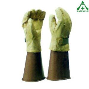 ヨツギ 保護革手袋 (大) マジックテープ YS-103-12-02 (メーカー直送/代引き決済不可)電気工事 絶縁用保護具 合成皮革 電力 通信 鉄道 電設 YOTSUGI 高圧電気回路