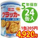 ブルボン缶入ミニクラッカー(1箱24缶入) 100402c24