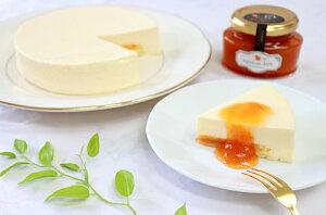 【特選ギフト・送料無料】信州・あんずの里の濃厚チーズケーキ&エクセレント特選杏ジャムセット なめらかで爽やかなあんずの里のチーズケーキと人気のジャムセット1ホール15cm【内