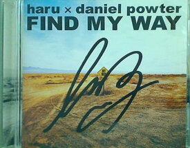 【中古】CD FIND MY WAY haru × daniel powter
