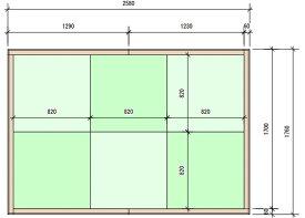 【フロアにマッチして畳の角を守る】 82cm角専用 木枠 3畳タイプ フレーム 琉球畳 枠 tatami ユニット畳 日本製 つかまり立ち つかまり立ち 転倒 防止 畳マット DIY 布団 ラグマット 琉球 インテリア マットレス