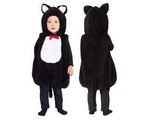 ベイビー マシュマロブラックキャットキャット ネコ ねこ 猫 動物 着ぐるみ あかちゃん Baby ベビー ハロウィン コスプレ コスチューム 衣装 仮装 かわいい