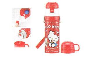 【サンリオ】【ハローキティ】2WAYステンレスボトル【クッキー】【キティ】【キティちゃん】【キャラクター】【ステンレス】【アウトドア】【ボトル】【水筒】【すいとう】【保冷】【か