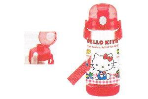 【サンリオ】【ハローキティ】ワンプッシュダイレクトボトル【ギンガムチェック】【キティ】【キティちゃん】【キャラクター】【ボトル】【コップ】【水筒】【すいとう】【レジャー】