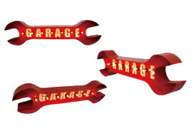 【アメリカン雑貨】サインライト【RED】【SPANNER】【スパナ】【工具】【電飾】【看板】【アメリカ雑貨】【ライト】【ブリキ看板】【インテリア】【アメリカ】【USA】【かわいい】【おしゃれ】