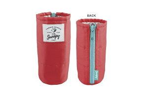 【SNOOPY】【スヌーピー】ボトルカバー【ピンク】【ピーナッツ】【グッズ】【キャラクター】【ボトルケース】【ボトルホルダー】【保冷】【保温】【かわいい】