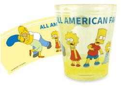 【ザ・シンプソンズ】【The Simpsons】カラークリスタルカップ【ファミリー全身】【シンプソンズ】【コップ】【カップ】【タンブラー】【食器】【アニメ】【アメリカ】【カップ】【キッチン】【かわいい】