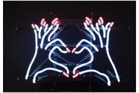 【アメリカン雑貨】ネオンサイン【HEART HAND】【ネオンチューブ】【ネオンライト】【電飾】【看板】【アメリカ雑貨】【ライト】【ブリキ看板】【インテリア】【店舗】【USA】【ガレージ】【カフェ】【かわいい】【おしゃれ】