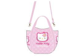 【ハローキティ】2WAYショルダーバッグ【キルティングキティ】【Kitty】【キティ】【キティちゃん】【バッグ】【ハンドバッグ】【鞄】【かばん】【サンリオ】【グッズ】【キャラ】【かわいい】