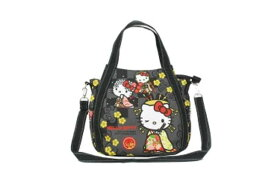【ハローキティ】2WAYショルダーバッグ【雅】【和柄】【和風】【Kitty】【キティ】【キティちゃん】【バッグ】【ハンドバッグ】【鞄】【かばん】【サンリオ】【グッズ】【キャラ】【かわいい】