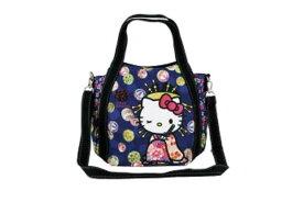 【ハローキティ】2WAYショルダーバッグ【花魁】【和柄】【和風】【Kitty】【キティ】【キティちゃん】【バッグ】【ハンドバッグ】【鞄】【かばん】【サンリオ】【グッズ】【キャラ】【かわいい】