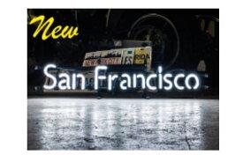 【アメリカン雑貨】ネオンサイン【SAN FRANCISCO】【サンフランシスコ】【ネオン】【ネオンライト】【電飾】【看板】【かんばん】【アメリカ雑貨】【ライト】【ブリキ看板】【インテリア】【店舗】【USA】【ガレージ】【カフェ】【かわいい】【おしゃれ】