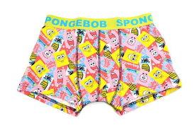 【送料無料】【スポンジボブ】ボクサーブリーフL【パイナップル】【SpongeBob】【ボブ】 【アニメ】【キャラクター】【ボクサー】【パンツ】【ブリーフ】【下着】【メンズ】【かわいい】