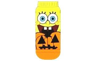 【送料無料】【スポンジ・ボブ】HALLOWEEN SOCKS【かぼちゃ】【YE×OR】【SpongeBob】【ボブ】 【アニメ】【キャラクター】【ソックス】【レディース】【くつした】【靴下】【かわいい】