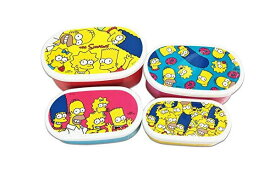 【ザ・シンプソンズ】【The Simpsons】4Pランチボックス【ファミリー】【シンプソンズ】【アメリカ】【キャラクター】【アニメ】【食器】【お弁当箱】【弁当箱】【ピクニック】【遠足】【行楽】【キャラ】【グッズ】【かわいい】