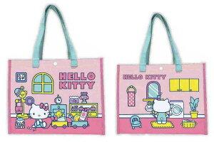 【サンリオキャラクター】ビニールトート【ハローキティ】【キティちゃん】【キティ】【きてぃ】【サンリオ】【鞄】【かばん】【バッグ】【トートバッグ】【カバン】【ビニールバッグ