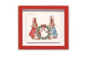 【送料無料】【日本製】【ピーターラビット】【Peter Rabbit】フレームマグネット【リース】【ピーター】【ウサギ】【絵本】【児童書】【うさぎ】【グッズ】【マグネット】【磁石】【コレクション】【雑貨】【かわいい】