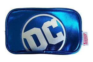 【送料無料】【DCコミック】スクエアポーチ【DCロゴ】【ジャスティスリーグ】【バットマン】【スーパーマン】【映画】【DC】【コミック】【漫画】【アメコミ】【小物入れ】【ポーチ】【
