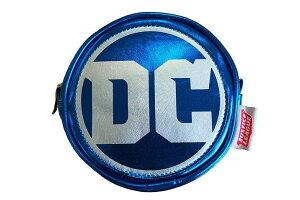【送料無料】【DCコミック】ラウンドポーチ【DCロゴ】【ジャスティスリーグ】【バットマン】【スーパーマン】【映画】【DC】【コミック】【漫画】【アメコミ】【小物入れ】【ポーチ】【