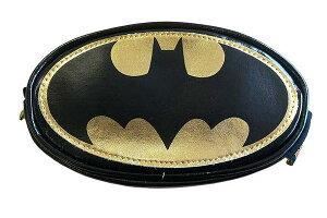【送料無料】【DCコミック】ラウンドポーチ【バットマンロゴ】【バットマン】【スーパーヒーロー】【ヒーロー】【映画】【DC】【コミック】【漫画】【アメコミ】【小物入れ】【ポーチ】