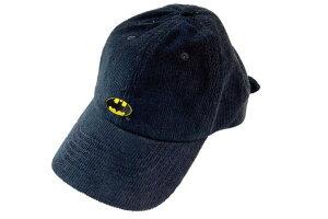 【DCコミック】コーデュロイ刺繍キャップ【ロゴ】【バットマン】【映画】【DC】【コミック】【漫画】【アメコミ】【帽子】【キャップ】【ぼうし】【きゃっぷ】【ファッション】【グッズ