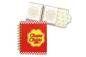 【チュッパチャプス】マグネット付きミニリングメモ【チェッカー】 【Chupa Chups】【あめ】【あめちゃん】【お菓子】大人気!