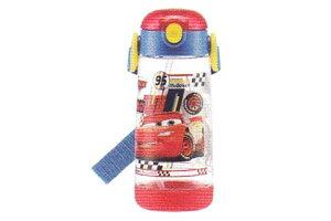 【カーズ】ワンプッシュストローボトル【カーズ20】【Cars】【ライトニングマックィーン】【ディズニー】【アニメ】【映画】【キャンプ】【ピクニック】【水筒】【すいとう】【マグ】【