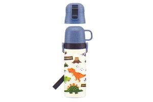 【オリジナル】2WAYステンレスボトル【DINOSAURS】【ディノサウルス】【恐竜】【動物】【アニマル】【ボトル】【水筒】【給水】【すいとう】【遠足】【行楽】【グッズ】【かわいい】