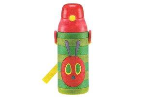 【はらぺこあおむし】3Dワンプッシュストローボトル【エリックカール】【はらぺこ】【ロングセラー】【絵本】【ボトル】【水筒】【給水】【すいとう】【遠足】【行楽】【グッズ】【か
