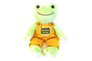 【かえるのピクルス】ぬいぐるみコスチューム【オーバーオール】【イエロー】【ピクルス】【ぴくるす】【かえる】【カエル】【pickles the frog】【カエルのピクルス】【キッズ】【洋服】【