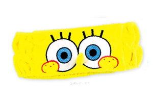 【スポンジ・ボブ】ヘアバンド【SpongeBob】【ボブ】 【アニメ】【キャラクター】【バンド】【ヘアバン】【髪留め】【お風呂】【洗顔】【メイク】【コスメ】【雑貨】【グッズ】【かわいい