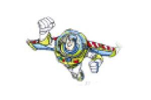 【ピクサーキャラクター】ワッペン【バズ1】【レックス】【ウッディ】【エイリアン】【トイストーリー】【ピクサー】【ディズニー】【映画】【アニメ】【アイロンパッチ】【アイロン】