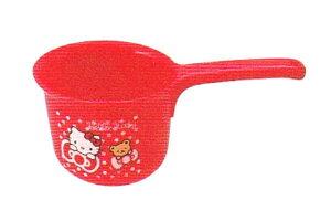 【サンリオキャラクター】子ども用片手おけ【くまとリボン】【ハローキティ】【キティちゃん】【キティ】【きてぃ】【サンリオ】【おけ】【風呂桶】【洗面器】【お風呂】【バス】【バ