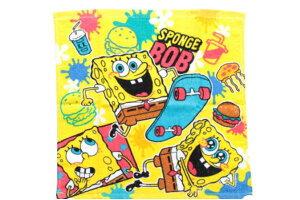 【スポンジボブ】 【2枚組】ウォッシュタオル【SpongeBob】【ボブ】【スポンジ・ボブ】【キャラ】【アニメ】【タオル】【たおる】【生活雑貨】【雑貨】【グッズ】【かわいい】