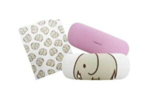 【miffy】【ミッフィー】メガネケース【ゾウ】【ブルーナ】【アニマル】【ウサギ】 【ミッフィーちゃん】【ナインチェ・プラウス】【絵本】【アニメ】【眼鏡ケース】【眼鏡入れ】【めが