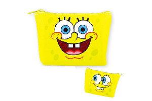 【スポンジボブ】三角ポーチ【フェイス】【SpongeBob】【ボブ】 【アメリカ】 【アニメ】【キャラクター】【小物入れ】【ポーチ】【ケース】【雑貨】【グッズ】【かわいい】