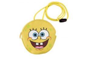 【スポンジ・ボブ】ネックパース【フェイス】【スポンジボブ】【ボブ】【スポンジ】【SpongeBob】【アニメ】【映画】【さいふ】【財布】【サイフ】【ウォレット】【ミニポーチ】【小銭入